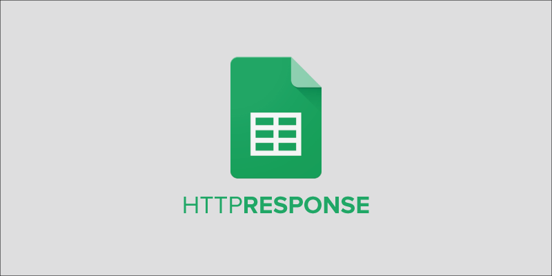 HTTP Response Code in Google Sheet