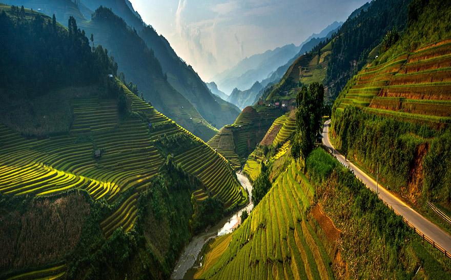 Mu Cang Chai Rice Terraces, Vietnam