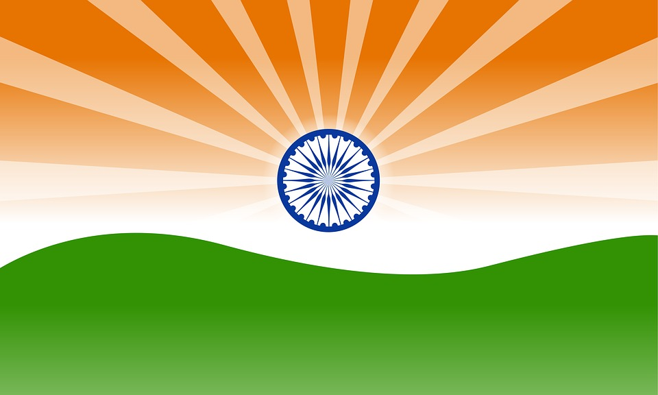 Indian Flag Illustration