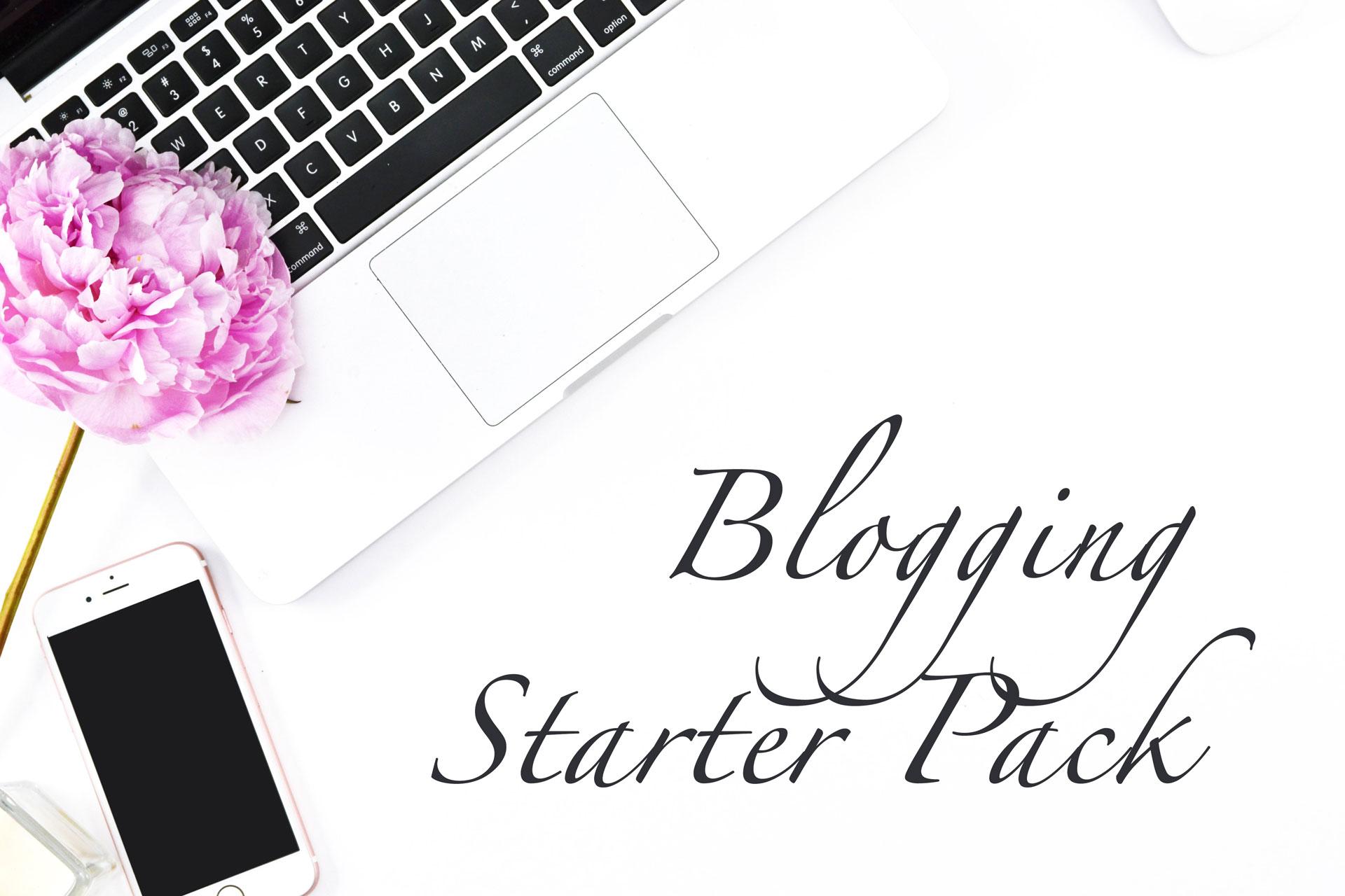 Blogging Starter Pack