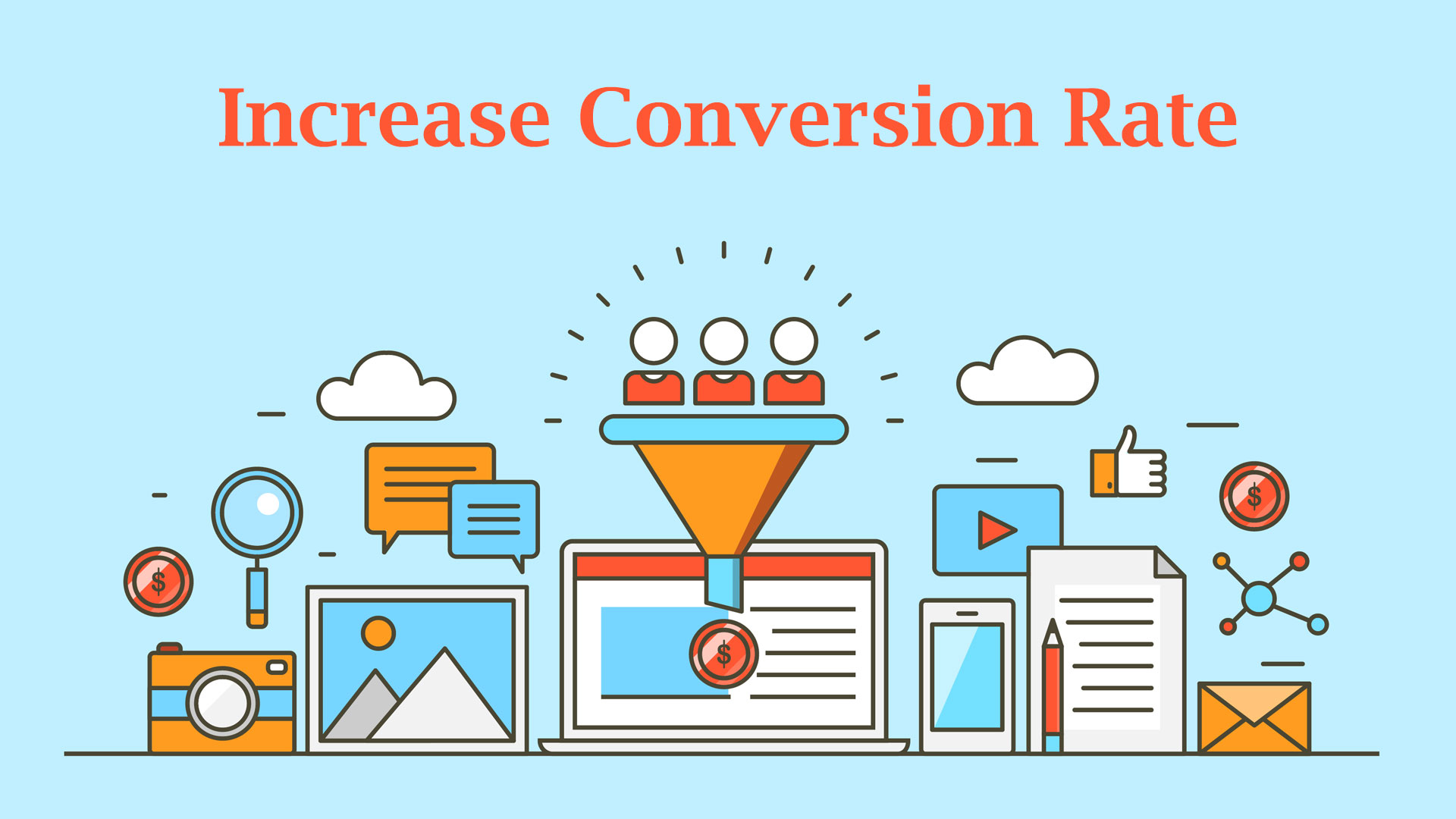 Increase the Conversion Rate