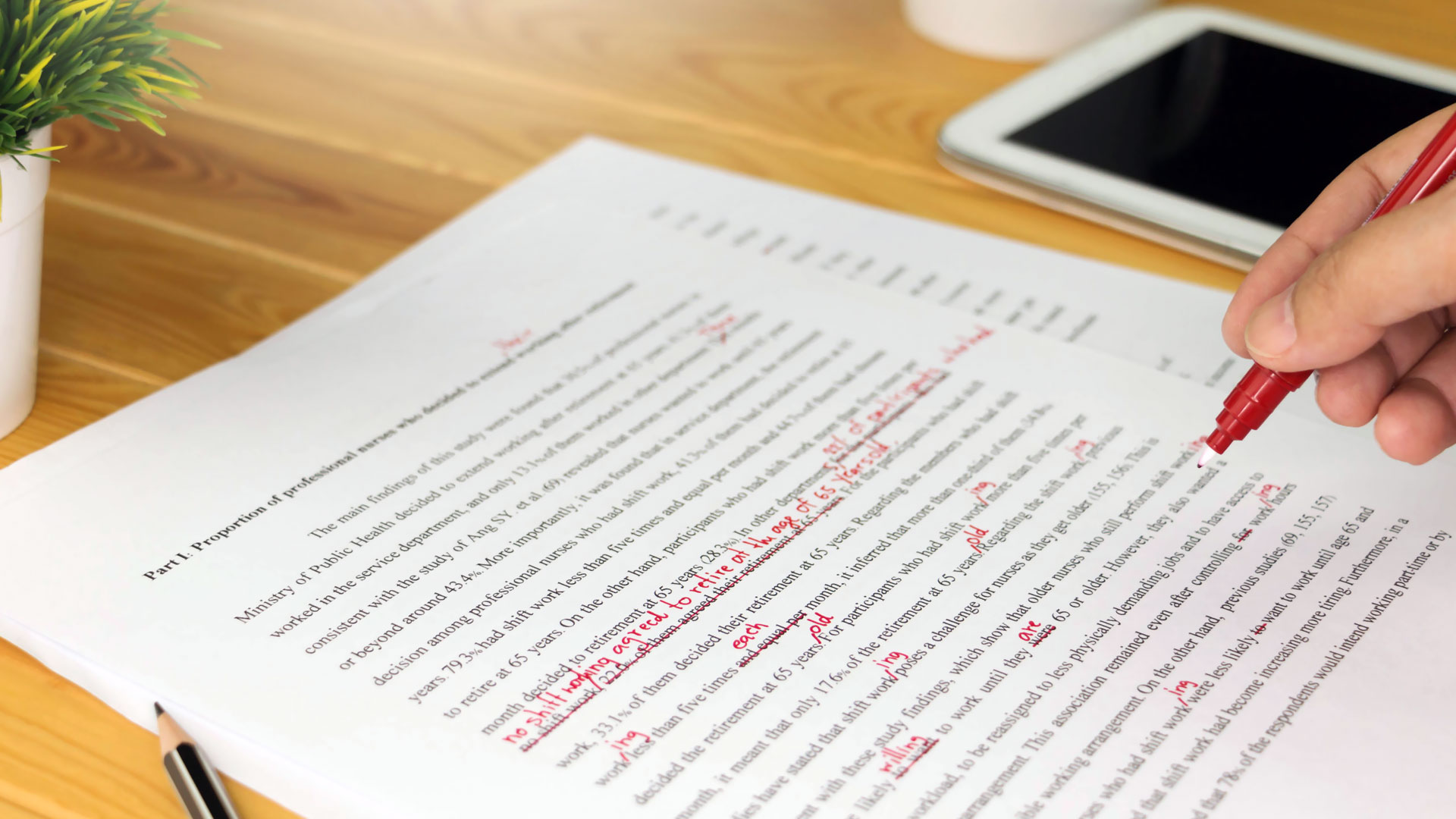 Grammar Checking and Proofreading Tools