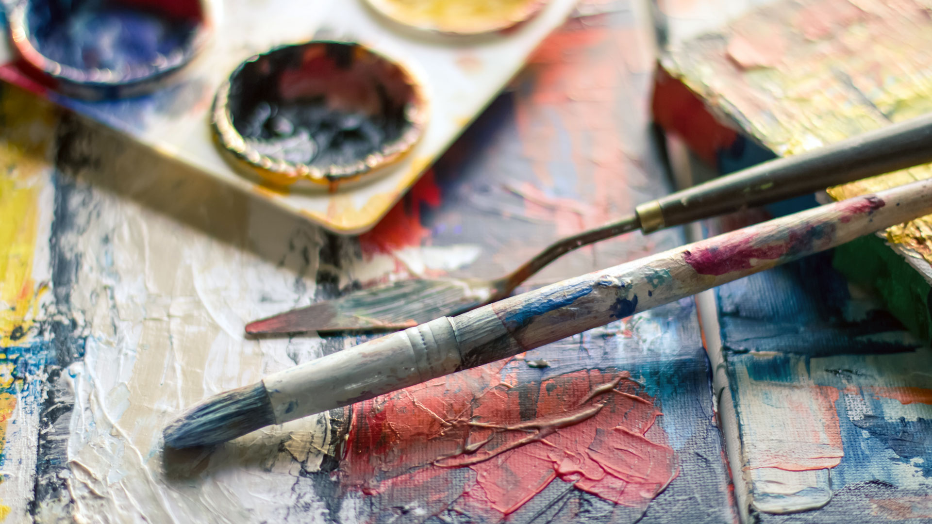 Paintbrush Palette