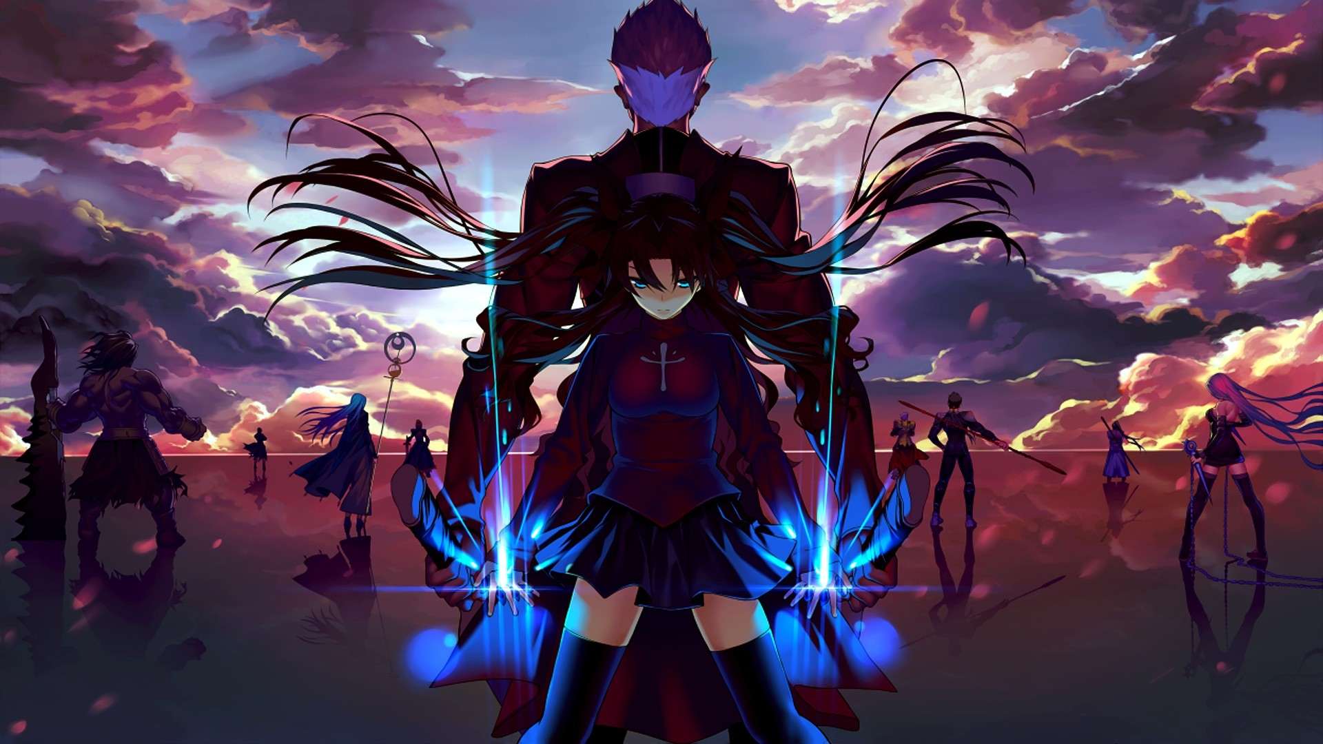 Fate Stay Night Lancer Anime Wallpaper