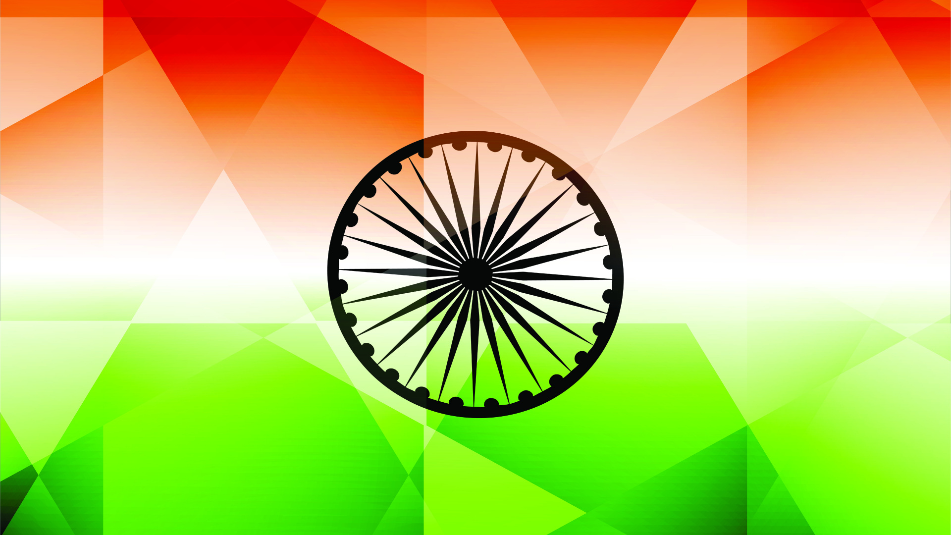 Flag of India Clip Art