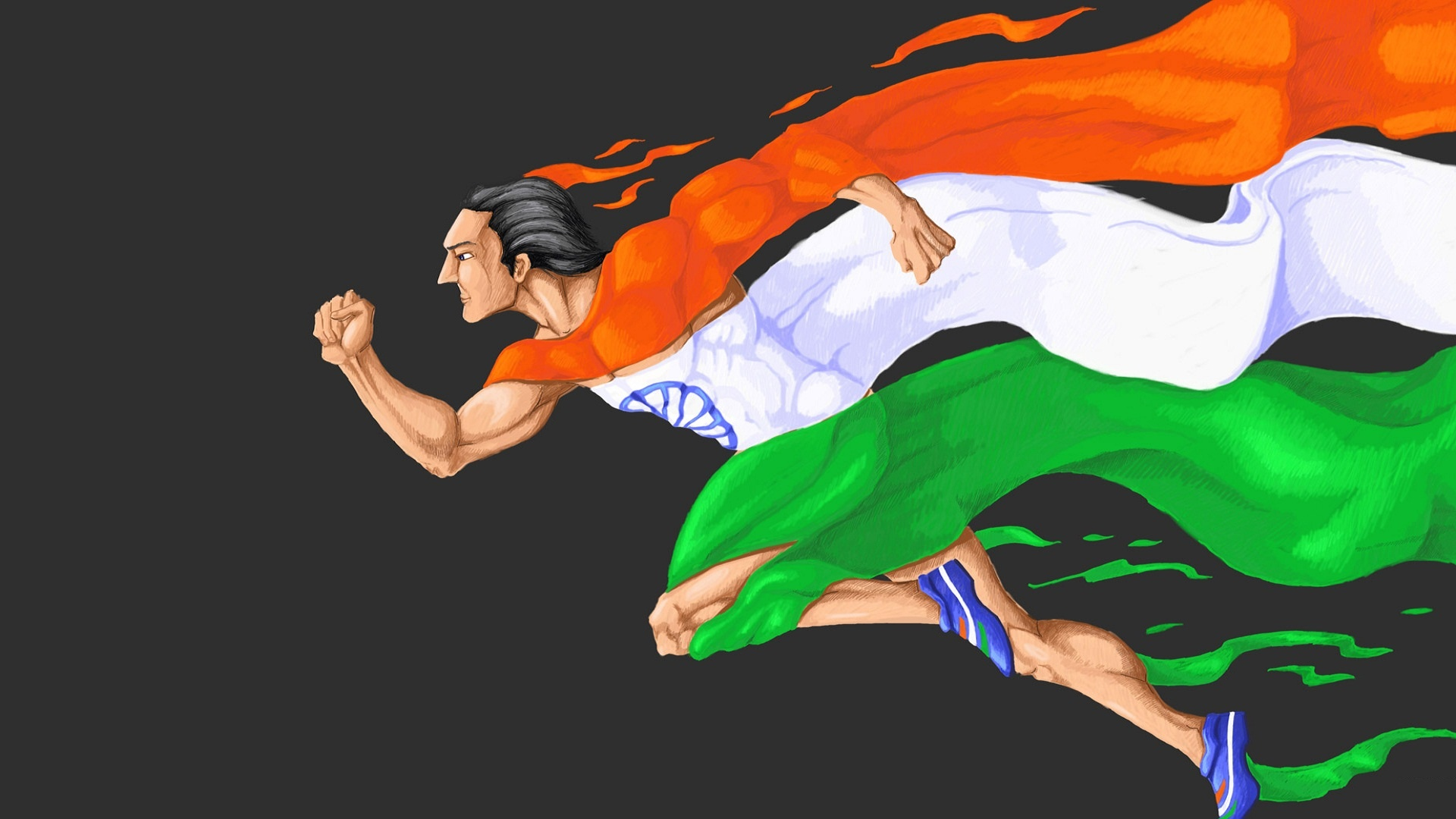 Indian Flag HD Image Marathon