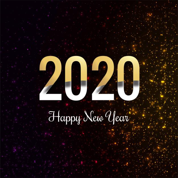 Happy New Year 2020 Beautiful Celebration